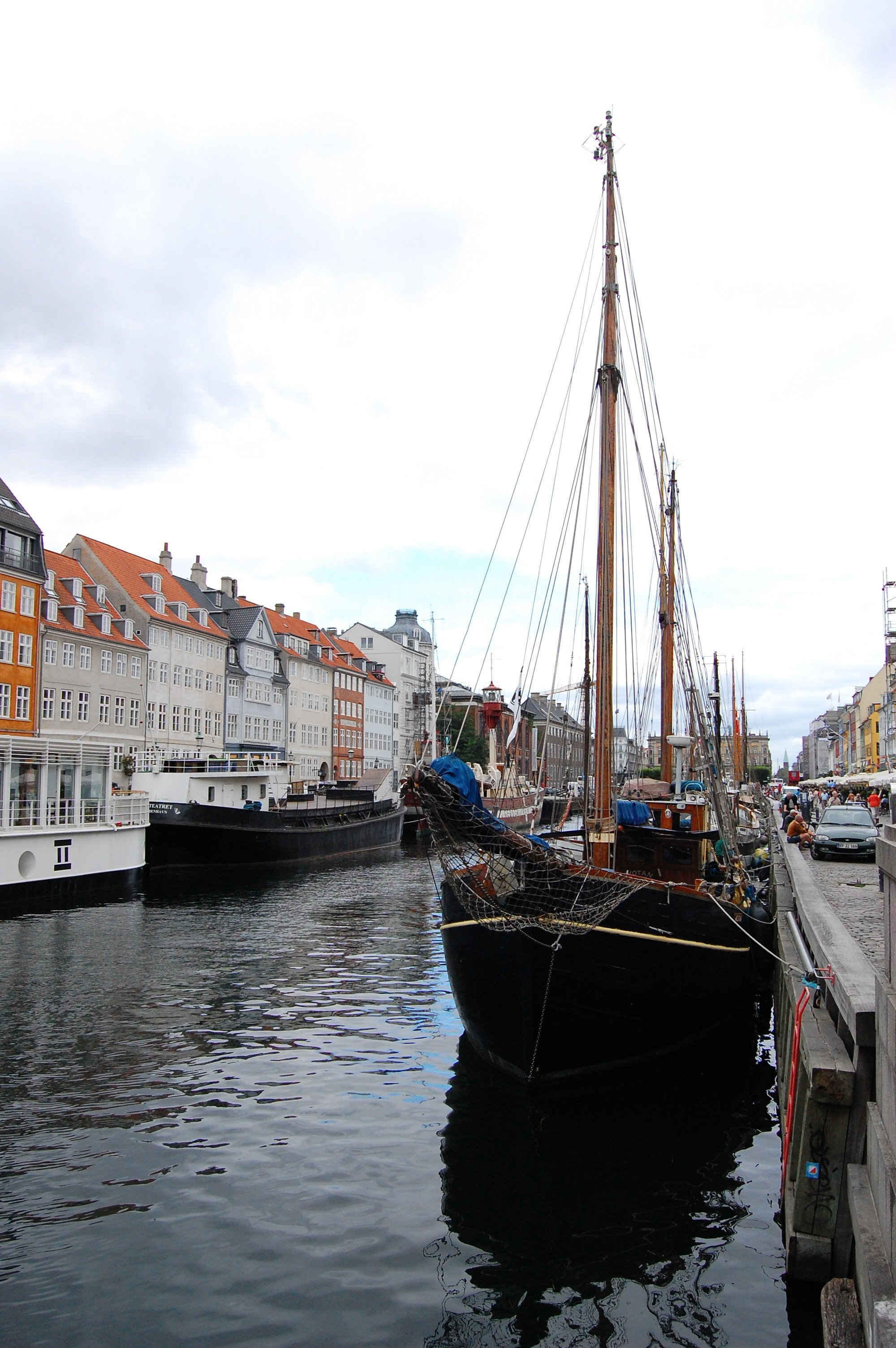 Nyhavn sailboat