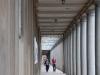 Pillar hallway